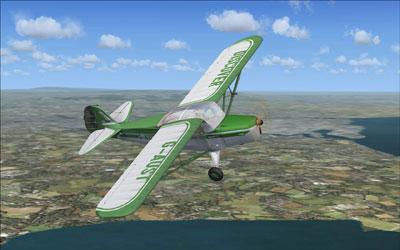 Auster Autocrat J/1 aircraft in FSX