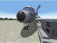 DC-9 nose
