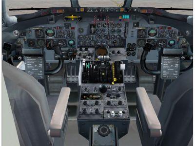 DC-9 cockpit
