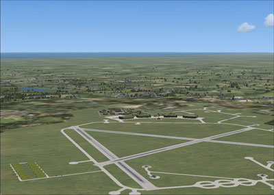Screenshot from RAF Station Driffield scenery