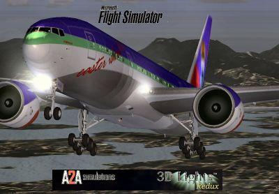 Easter Island Air Boeing 777-200.