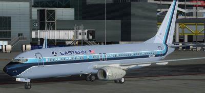 Eastern Airlines Boeing 737-800.
