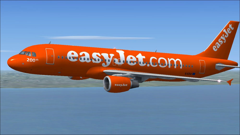 Easy Jet Stock Photos and Images