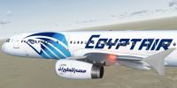 EgyptAir Airbus A321-231 in flight.