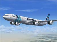 EgyptAir Airbus A340-600.
