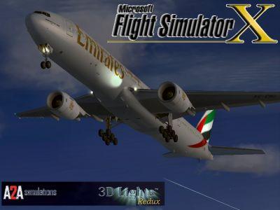 Emirates Boeing 777-31H.