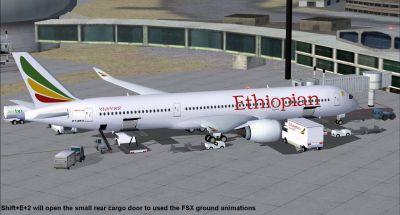 Ethiopian Airlines Airbus A350-900 XWB.