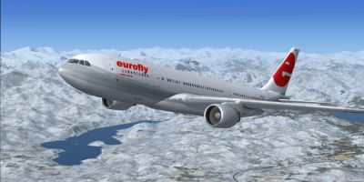 Eurofly Airbus A330-223.