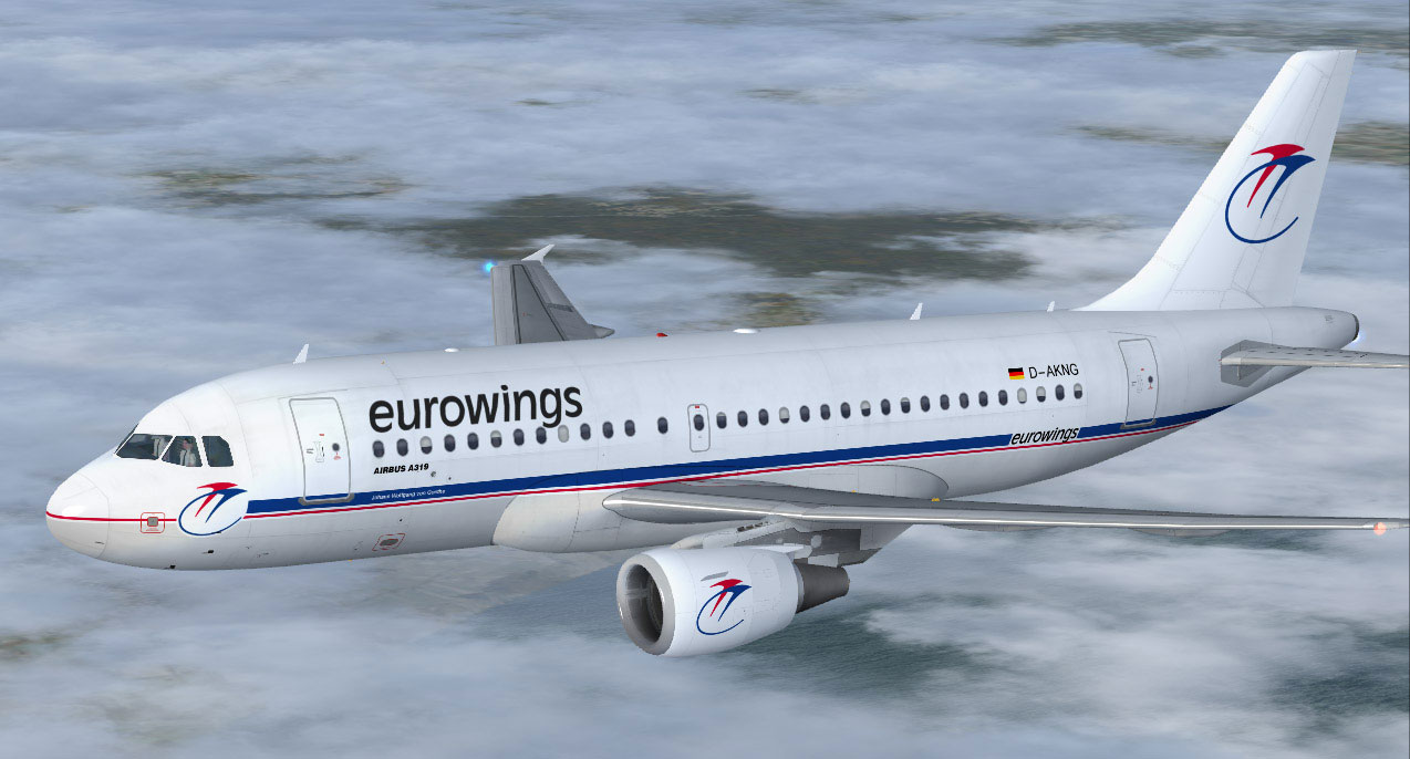 Airline Yurovingz (Eurowings). Official sayt.2