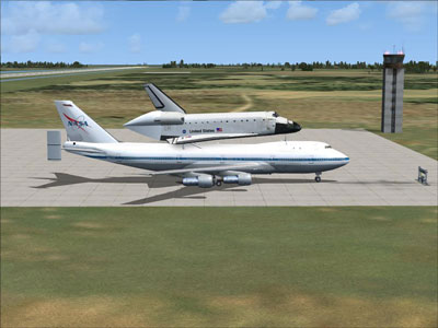 NASA SCA Boeing 747-123 for FSX