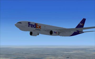FedEx Airbus A330-200F.