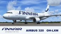 Finnair Airbus A320 And A319.