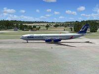 Finnair Airbus A340-300.