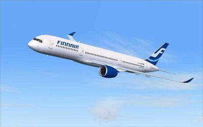 Finnair Airbus A350-900 XWB.