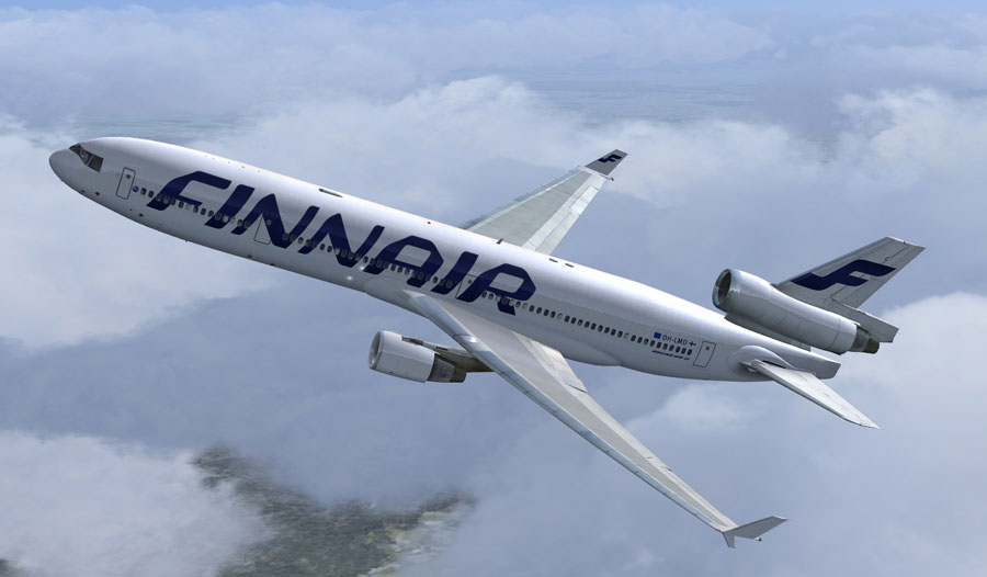 finnair mcdonnell douglas md 11 for fsx rh flyawaysimulation com MD -88 MD-11 Interior