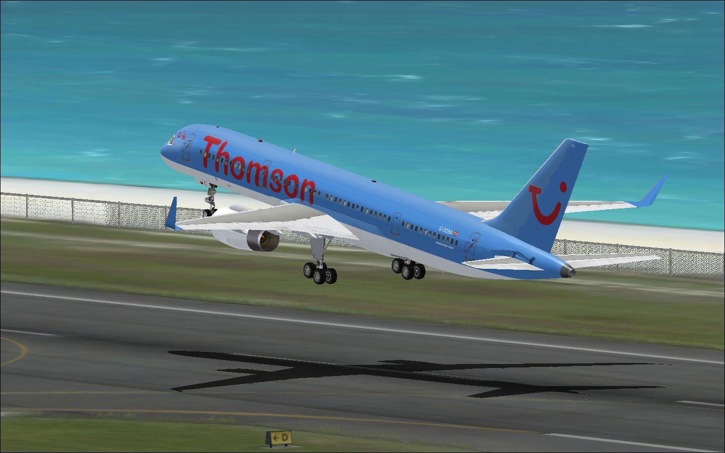 First Choice Boeing 757 For Fsx