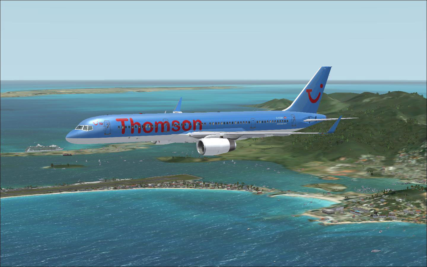 First choice boeing 757 w winglets for fsx for First ch