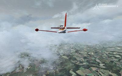 Cloud textures in Flight Environment X