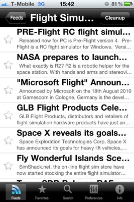 The latest flight simulator news on your iPhone