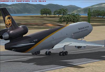 UPS McDonnell Douglas MD-11 for FSX