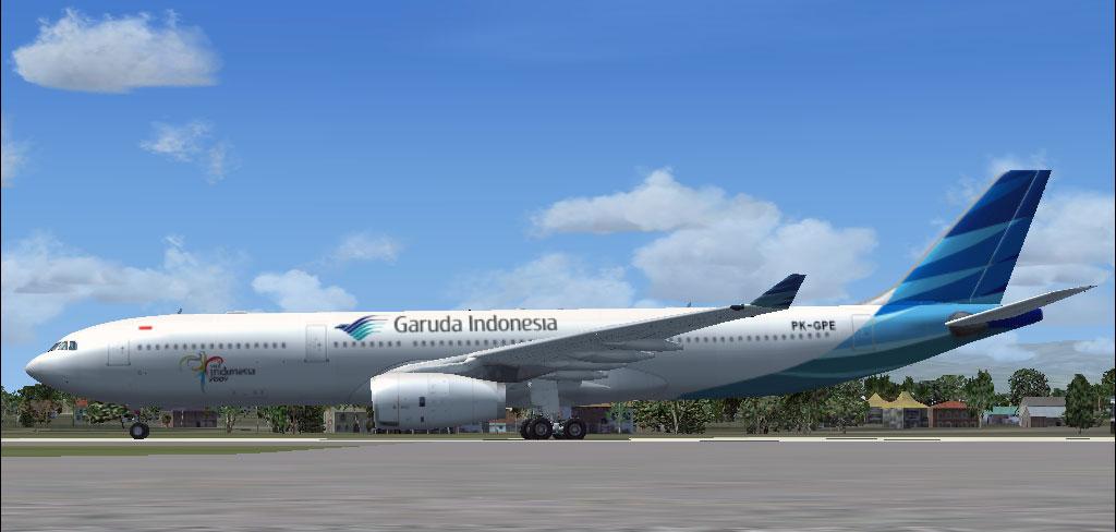 Garuda Indonesia Airbus A330-300 for FSX