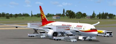 Hainan Airlines Boeing 787-8.