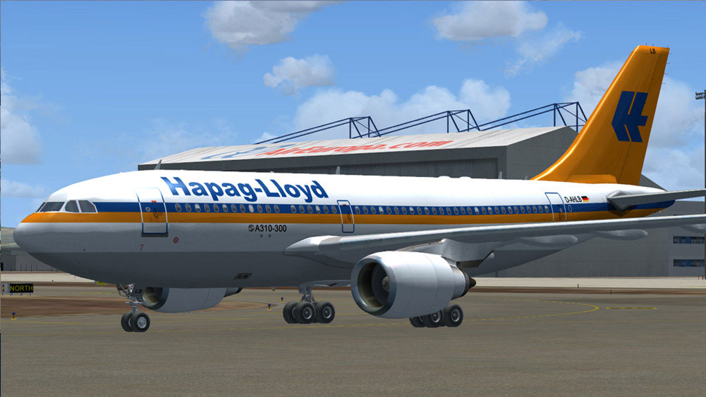 Hapag-Lloyd Airbus A310-304 for FSX