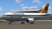 Hapag-Lloyd Airbus A310-304.