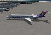 Hawaiian Airlines Boeing 717.