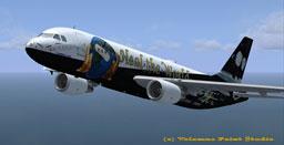 FSX Heal the World Airbus A320