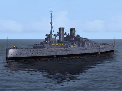 Delta Sim's HMS King George V Battleship for FSX