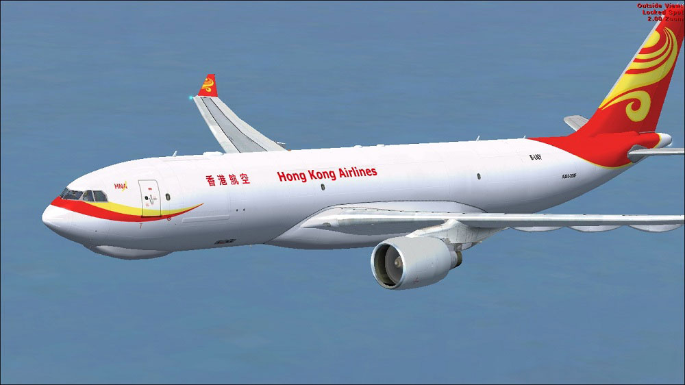 hong kong airlines airbus a330 200f for fsx. Black Bedroom Furniture Sets. Home Design Ideas