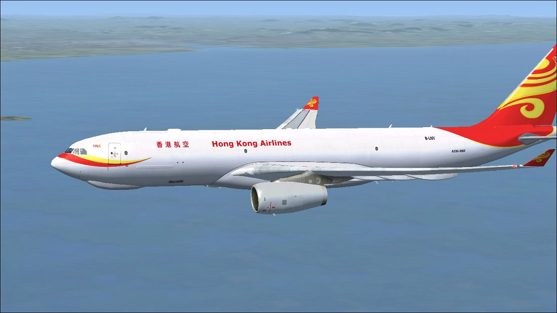 hong kong airlines airbus a330 243f for fsx. Black Bedroom Furniture Sets. Home Design Ideas