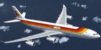 Iberia Airbus A340-313X.