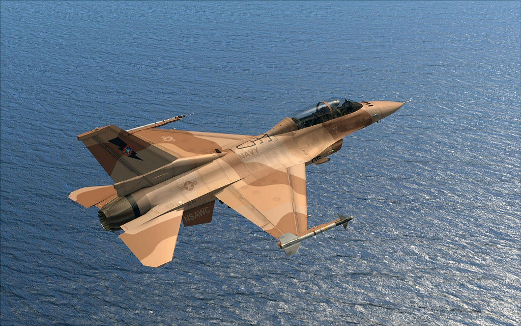 Iris Pro Series F-16D Fighting Falcon For FSX Released