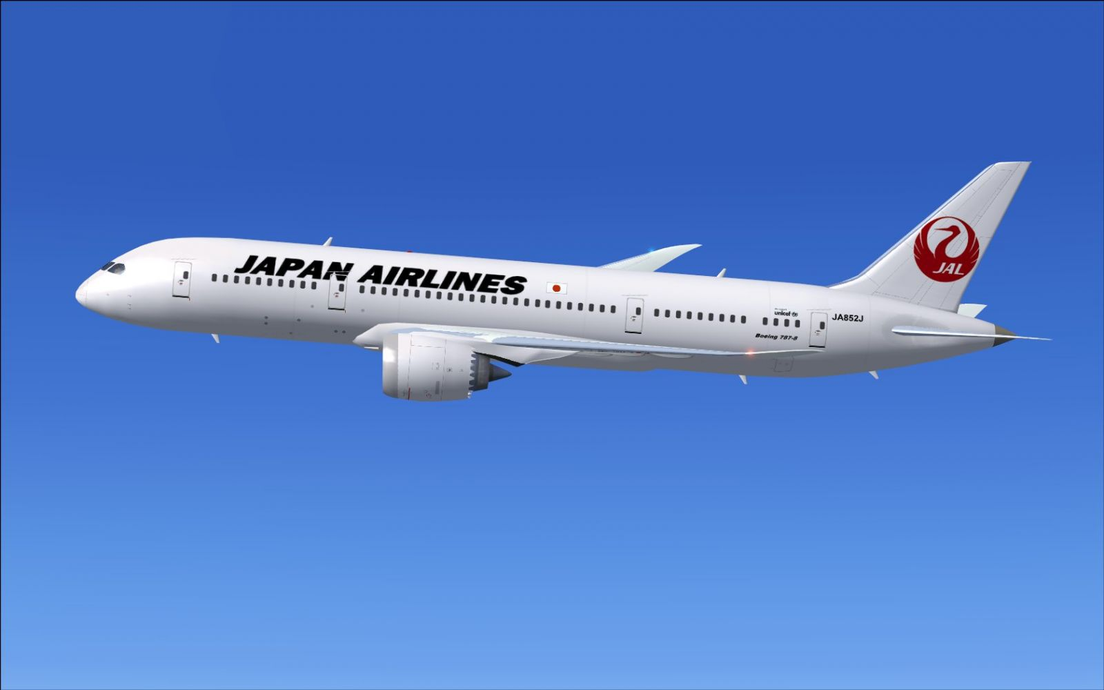 Download this Fsx Japan Airlines Boeing Repaint picture