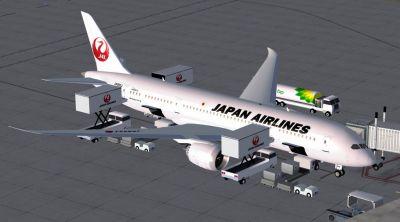 Japan Airlines Boeing 787-8.