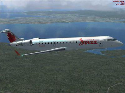 Jazz Bombardier CRJ 700.
