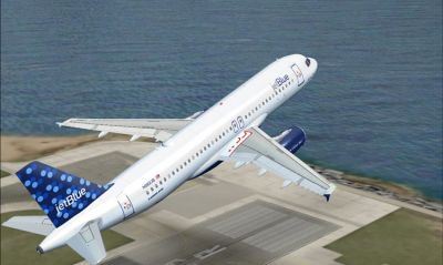 Jet Blue Airbus A320-200.
