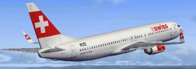 Jet Swiss International Airlines.