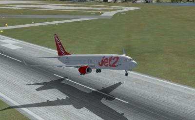 Jet2 Boeing 737-800 taking off.