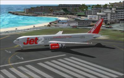 Jet2.com Boeing 767-300ER on tarmac.
