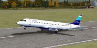 jetBlue Embraer 190 taking off.