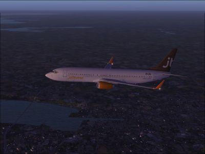 Jettime Boeing 737-800.
