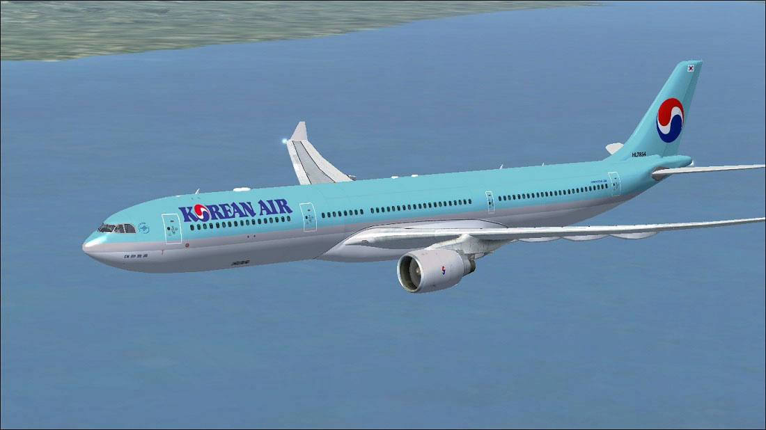 Korean Air Airbus A330-300 for FSX