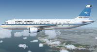 Kuwait Airways A320-212.