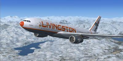 Livingston Energy Flight Airbus A330-243.
