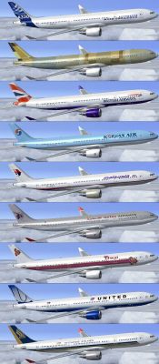Collection of Lufthansa Airbus A330 repaints.