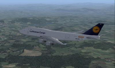 Lufthansa Cargo Boeing 747-400F