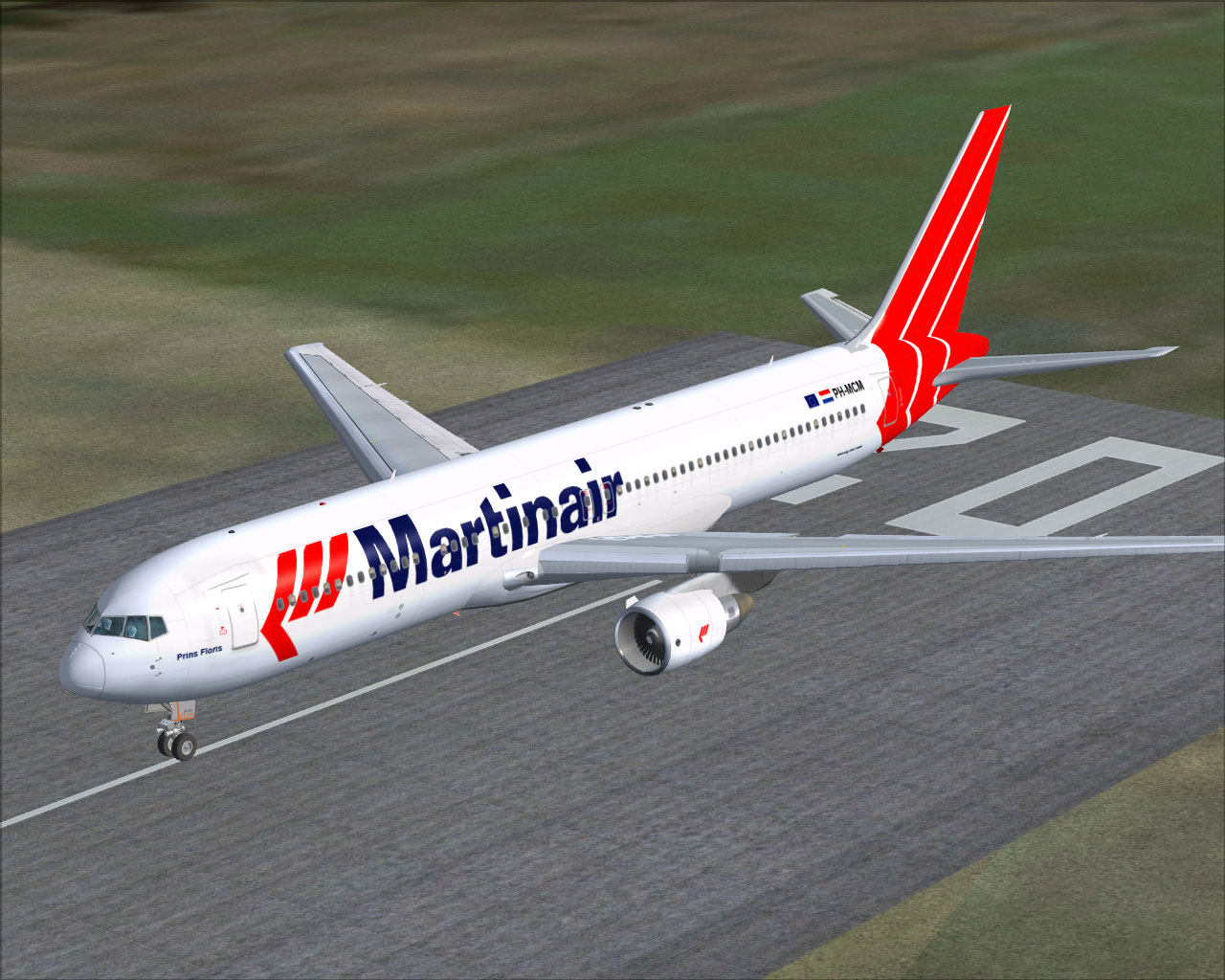 Martinair Boeing 767-300 for FSX